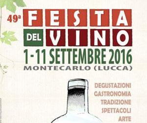 Festa del Vino a Montecarlo