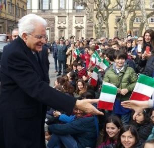 Il Presidente Sergio Mattarella apprezza la cucina lucchese