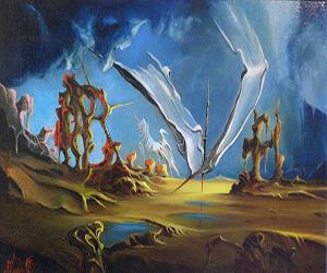 Un omaggio pittorico per Stazzema chiude la mostra di Amadei