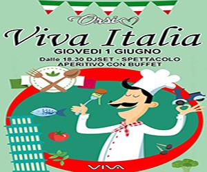 Musica, cibo e vino per festeggiare l'Italia