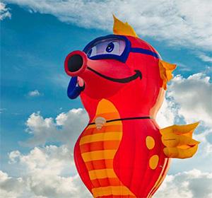 Festa dell'Aria: anche un cavalluccio marino solcherà i cieli di Capannori