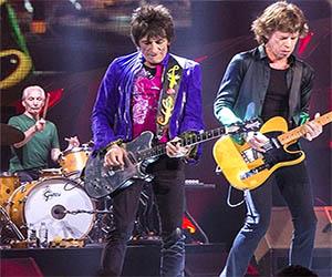 Serata Rolling Stones, un