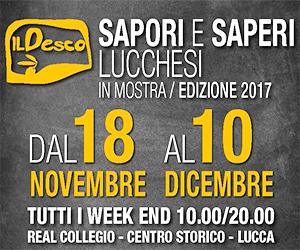 """Al via a Lucca """"Il Desco - Sapori e Saperi Lucchesi in mostra"""""""
