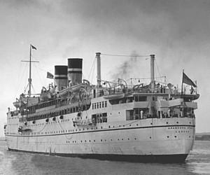 """Ricordo della nave """"Arandora Star"""" - affondata il 2 luglio di 80 anni fa"""