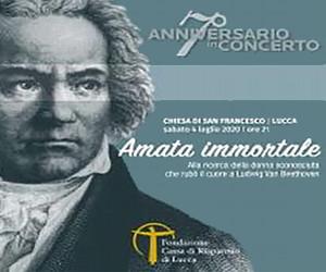 Anniversario in concerto: Amata immortale - Il 4 luglio presso la Chiesa di S.Francesco