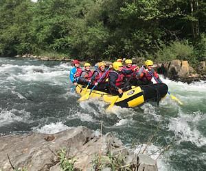 """Torna il """"rafting"""" sulla Lima il 9 agosto e il 23 agosto"""