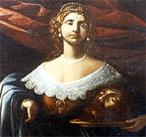 """""""Giuditta con la testa di Oloferne"""" <br>di Paolo Guidotti (XVII° secolo)"""