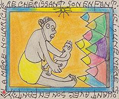La mostra a Lucca Arte Alfabeto Universale<br>dedicata all'ivoriano Frédéric Bruly Bouahé