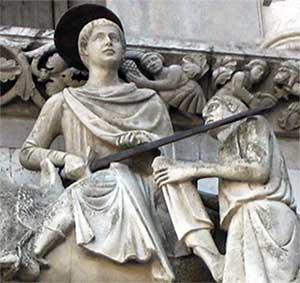 San Martino diventa il patrono del volontariato<br>
