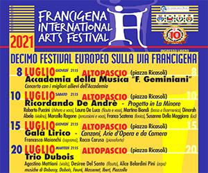A Altopascio è iniziata la decima edizione<br> del Francigena International Arts Festival